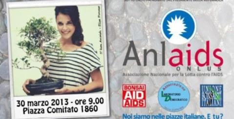 Bonsai contro l'Aids. Anlaids e Laboratorio Democratico per la lotta all'HIV