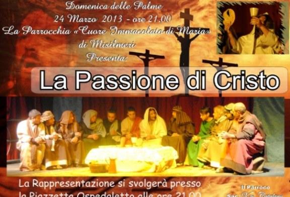 La Passione di Cristo. Domenica in scena
