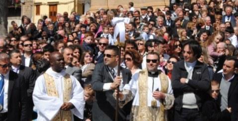 U N'contro ri Pasqua a Misilmeri. Le foto