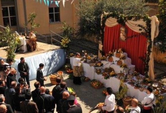 Scuola Traina, mercoledì la Tavolata di San Giuseppe