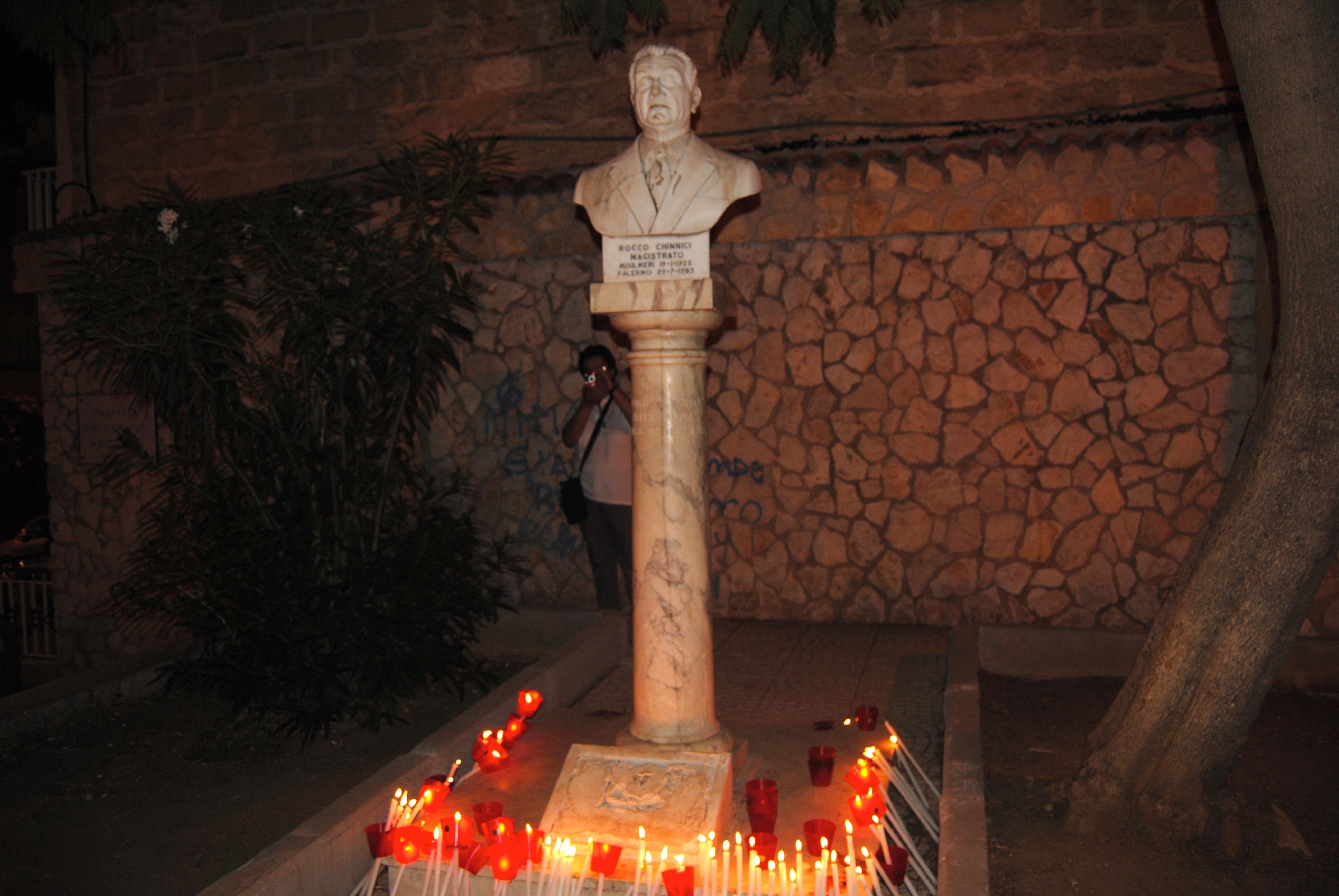 29 Luglio: 31 anni fa il sacrificio di Rocco Chinnici, Misilmeri non dimentica