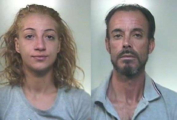 Uomo e donna arrestati per furto di auto dai carabinieri di Misilmeri