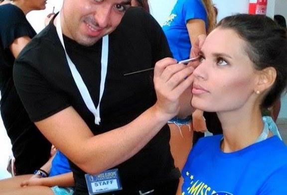 """Davide Sole al concorso """"Miss Europe continental"""""""