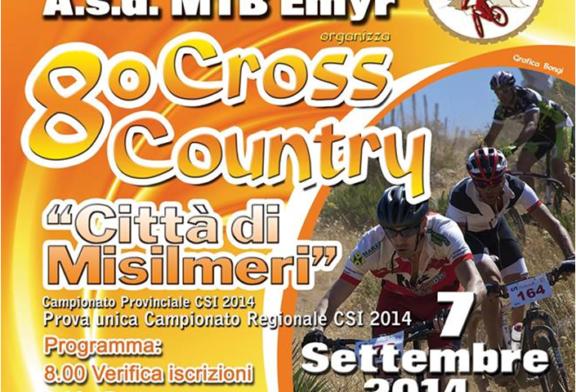 Domenica 7 Settembre, l'8° Cross Country