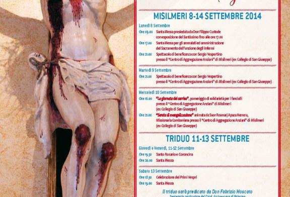 Misilmeri celebra il suo Signore, ritorna la festa del Crocifisso