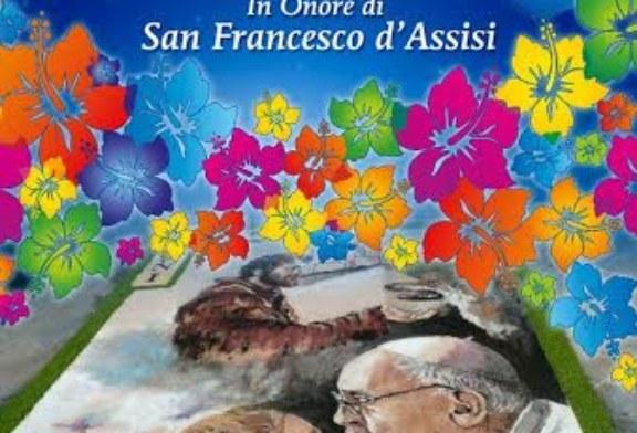 Sabato l'infiorata di San Francesco