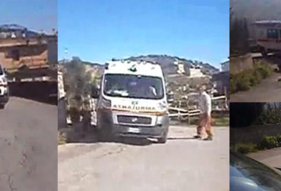 Emergenza Marraffa: l'ambulanza non passa. Residenti furiosi