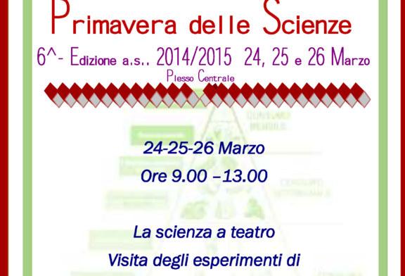 La VI edizione della Primavera delle Scienze alla Scuola Guastella