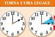 Lancette un'ora avanti, torna l'ora legale
