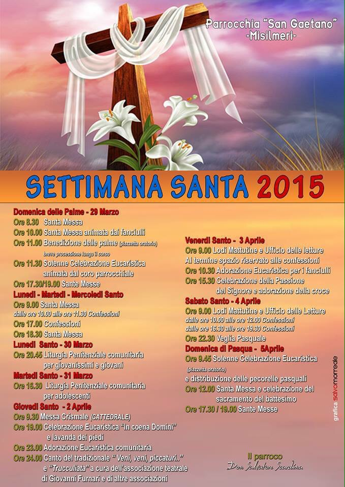 La Settimana Santa a San Gaetano