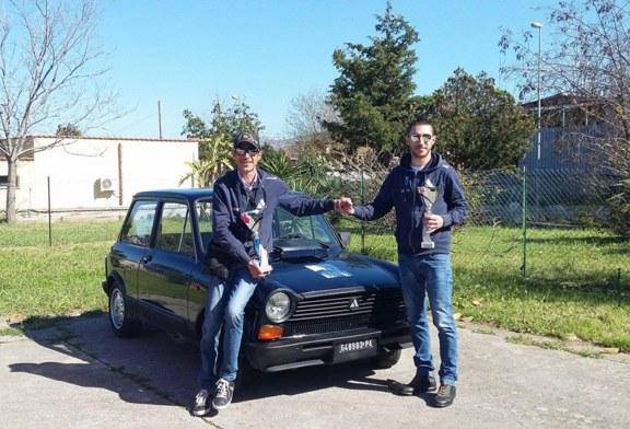 Regolarità autostoriche. I fratelli Vitrano vincono al Palermo Winter