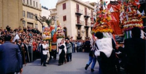 """La Domenica di Pasqua a Misilmeri: """"U n'contro"""""""