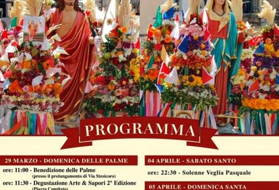 Il Programma del Triduo Pasquale