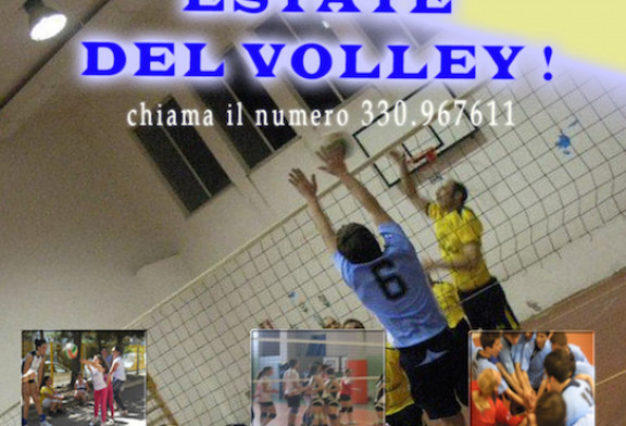 """""""Estate del Volley"""", da  oggi aperte le iscrizioni"""