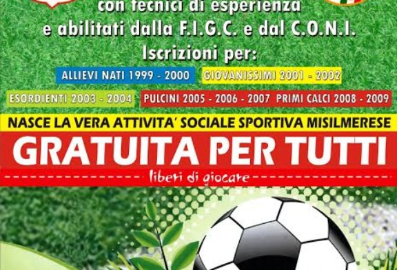 Calcio, Città di Misilmeri: Aperte le iscrizioni