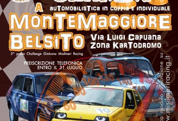 La Misilmeri Racing a Montemaggiore Belsito organizza la 3^ Gimkana