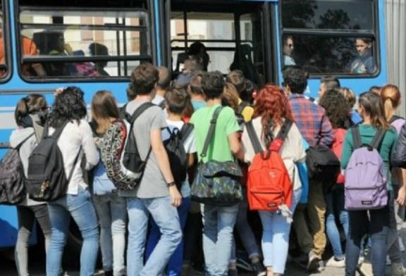 Trasporto scolastico, al via la presentazione degli abbonamenti di aprile e maggio