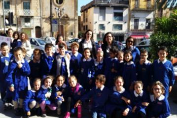 4 Novembre: gli alunni del Bonanno commemorano i caduti