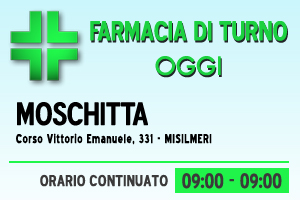 Farmacia di turno – MOSCHITTA