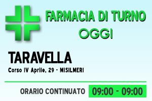 Farmacia di turno – TARAVELLA