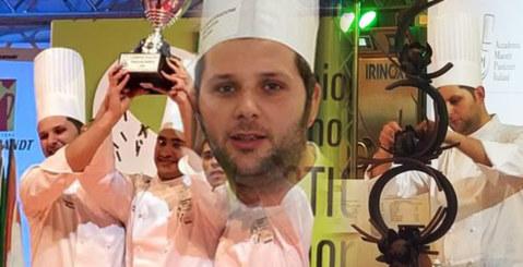 Francesco Perrone bronzo al Campionato Italiano di Pasticceria di Rimini