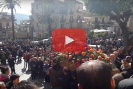 Misilmeri saluta per l'ultima volta Giovanni Aloisio [Video]