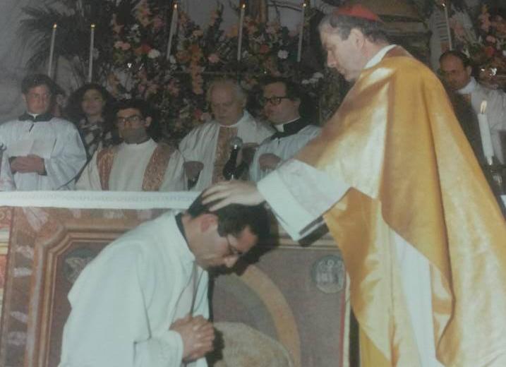 Il 3 Marzo 1984 venne ordinato sacerdote Don Pino Vitrano