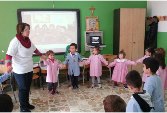 Happy Children, Il circolo Landolina approccia all'Inglese