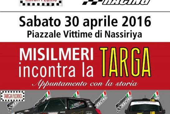 Misilmeri incontra la Targa Florio, sabato sera al Piazzale Vittime di Nassiriya