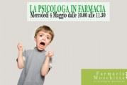 """Il 4 maggio """"La psicologa in farmacia"""", incontro gratuito"""
