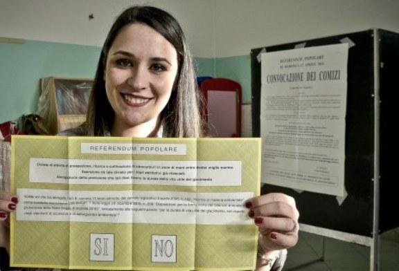 Referendum Trivelle: affluenza alle urne ore 12:00