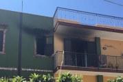Incendio a Portella di Mare, famiglia intossicata