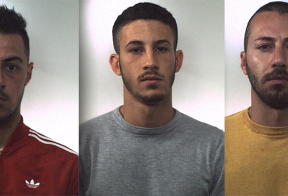 Rapina al Banco Popolare Siciliano di Marineo, arrestate tre persone [Foto]