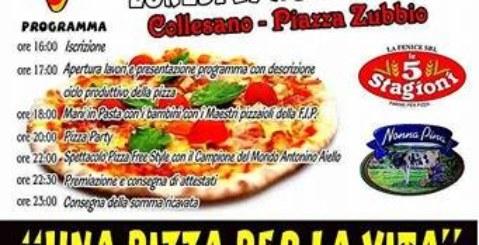 """""""Una pizza per un sorriso"""", pizzaioli misilmeresi protagonisti a Collesano"""