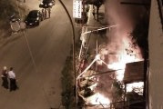 """Incendio nella pizzeria """"San Giusto"""". Le foto"""