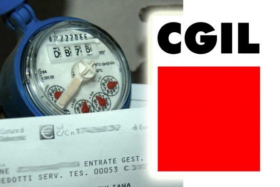"""Caos Acqua, la Cgil: """"Serve chiarezza, allunghiamo tempi pagamento"""""""