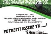 """Scuola Calcio """"G. Accomando"""", al via selezioni per calciatori classe 2002 /03"""