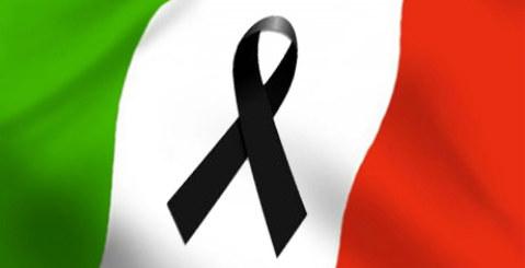 Oggi lutto nazionale, rinviata la festa di stasera