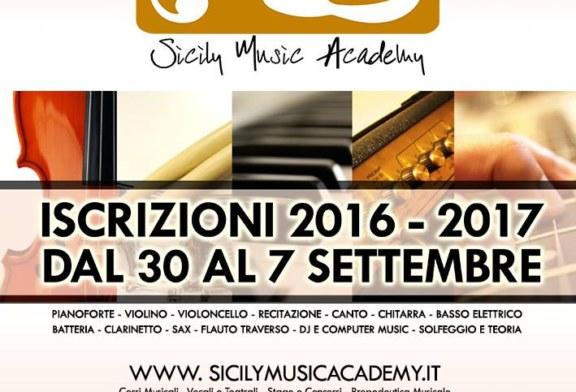 Aperte le iscrizioni per la Sicily Music Academy