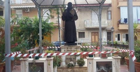 Statua di Padre Pio, il 25 Maggio sarà installata la nuova statua