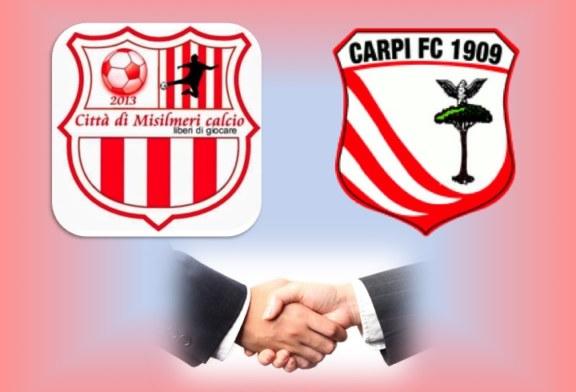 Città di Misilmeri calcio: effettuata l'affiliazione con Carpi [Foto]