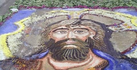Infiorata di Misilmeri tra fede, arte e …inciviltà [Foto e Video]