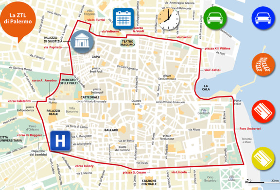Palermo: Al via la ZTL nel centro storico