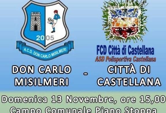 Don Carlo Misilmeri: Domenica a Piano Stoppa arriva il Castellana