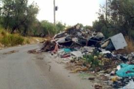 Allarme amianto e rifiuti ingombranti nelle campagne di Misilmeri
