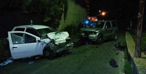 Grave incidente stradale nei pressi del Castello dell'Emiro