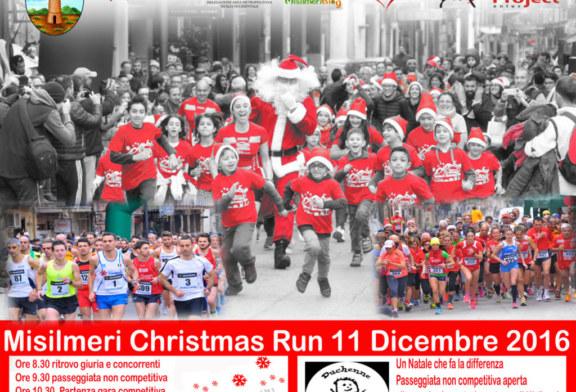 """Domenica  la seconda edizione della """"Misilmeri Christmas Run"""""""