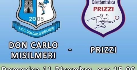 Don Carlo Misilmeri: Domenica contro il Prizzi per ritornare a vincere
