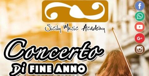 Venerdì il concerto di fine anno della Sicily Music Academy