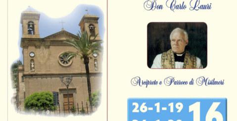 Domenica l'inaugurazione del mezzobusto in onore di Don Carlo Lauri